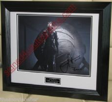 "ANTJE TRAUE SIGNED ""MAN OF STEEL"" FAORA SIGNED 8X10 FRAMED #atmos2"